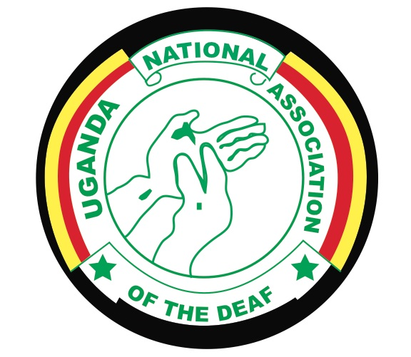 UNAD Logo: Ugandan National Associatin of the Deaf