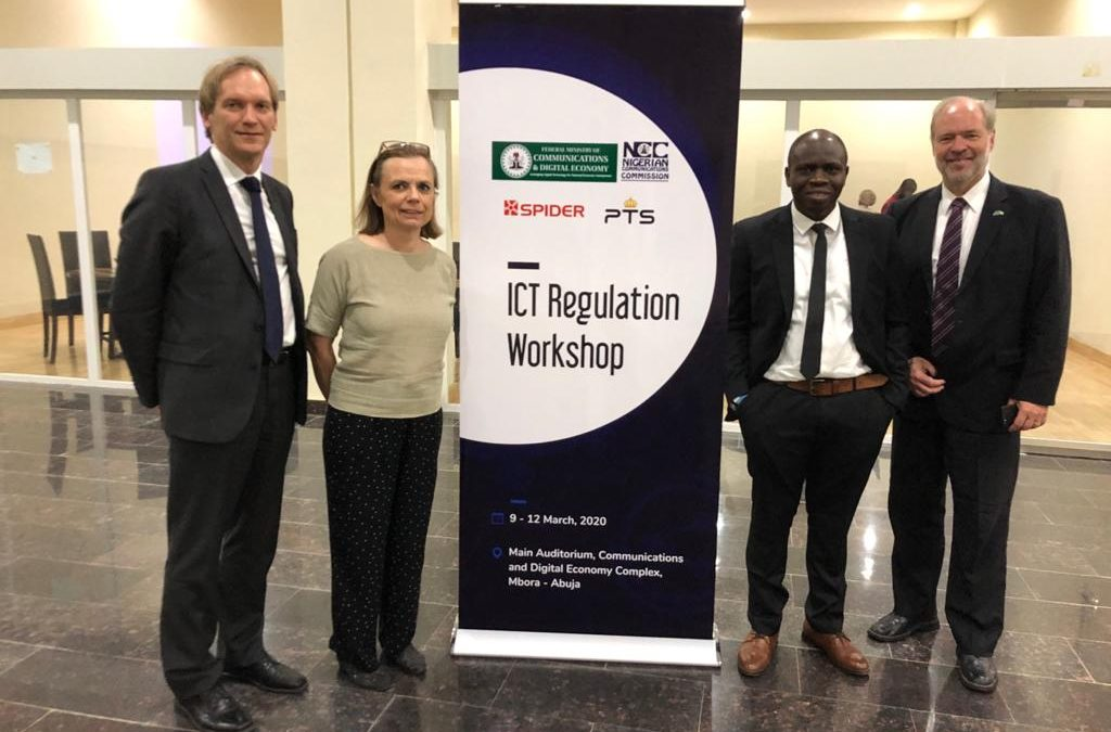 SPIDER and PTS invited to train West African regulators