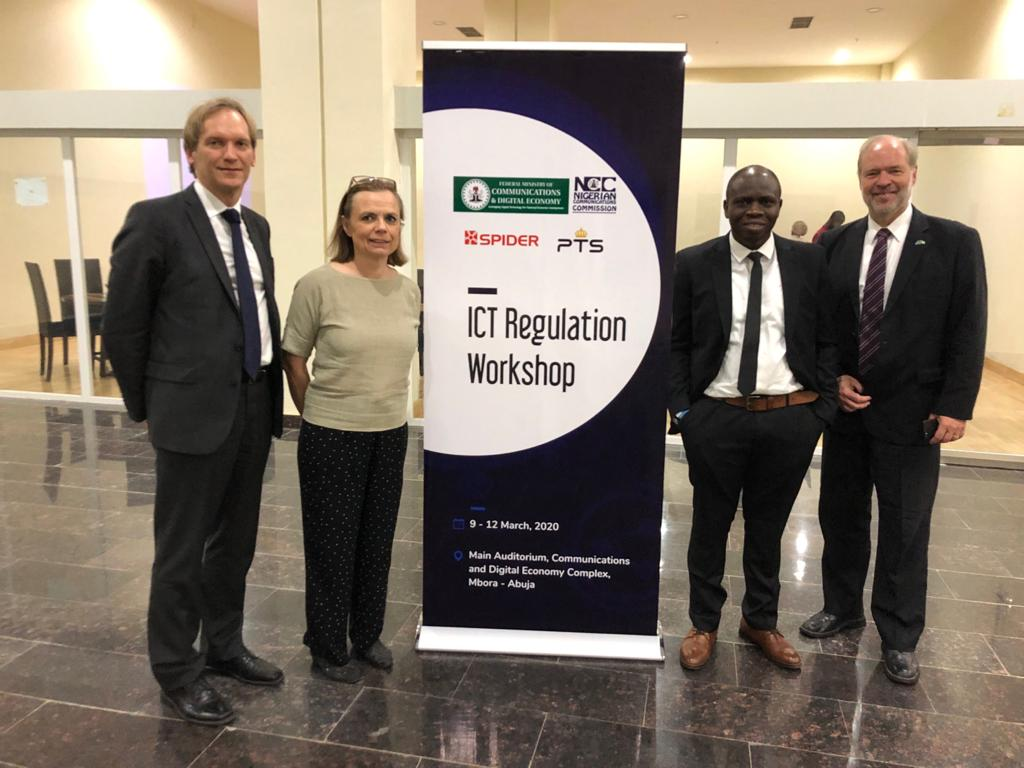 PTS, SPIDER and Ericsson Nigeria in Abuja