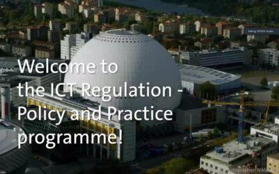 ITP programme update December 2020